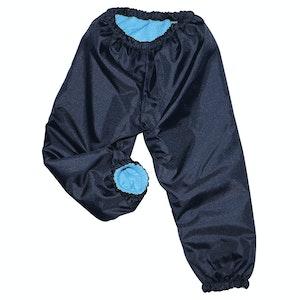 Silly Billyz Medium Aqua/Navy Waterproof Pants