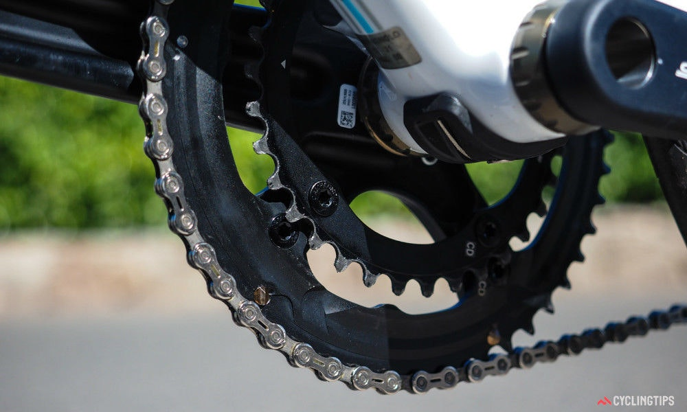 fullpage campagnolo centaur groupset ten things to know chainrings
