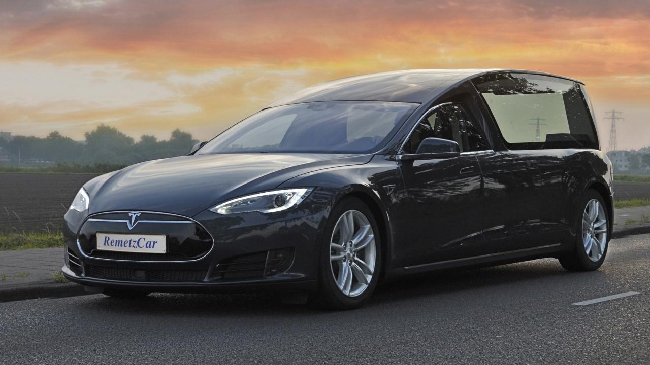 Tesla Model S Hearse