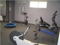 The Mayfair Gardens gym includes a visiting massuer
