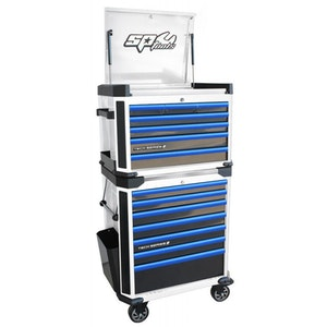 289 Pc Master Technician Tool Kit White/Blue SP52565