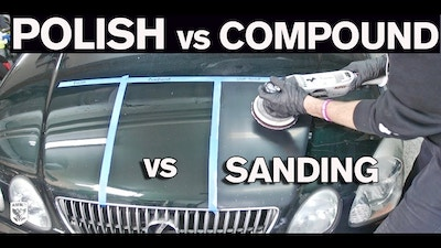 When To Polish vs Compound vs Wet Sand