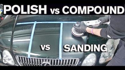 When To Polish vs Compound vs Wet Sand