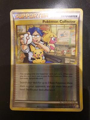 Pokemon Collector Reverse Holo