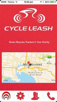 Cycle Leash app