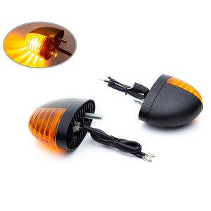 Flush Mount Oval Bulb Indicators