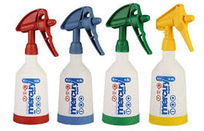 Kwazar Professional Spray Bottles - Pack of 4