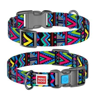WauDog by the Collar Company WauDog Nylon Dog Collar -Indie - Sizes: X-Small, Small, Medium, Large