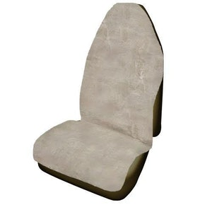 Throwover Sheepskin Seat Covers 20Mm Airbag Safe | Mocha