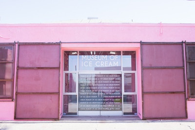 THE MUSEUM OF ICE CREAM #MOIC