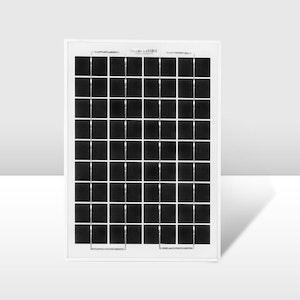 12V 10W Mono Solar Panel