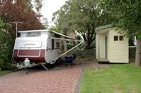 Ensuite site  courtesy  Melbourne  BIG4  Holiday  Park