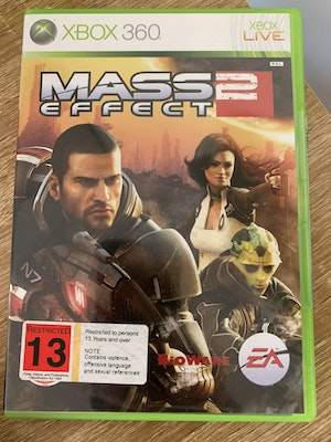 Mass Effect 2 game for Xbox 360 (EA Games)