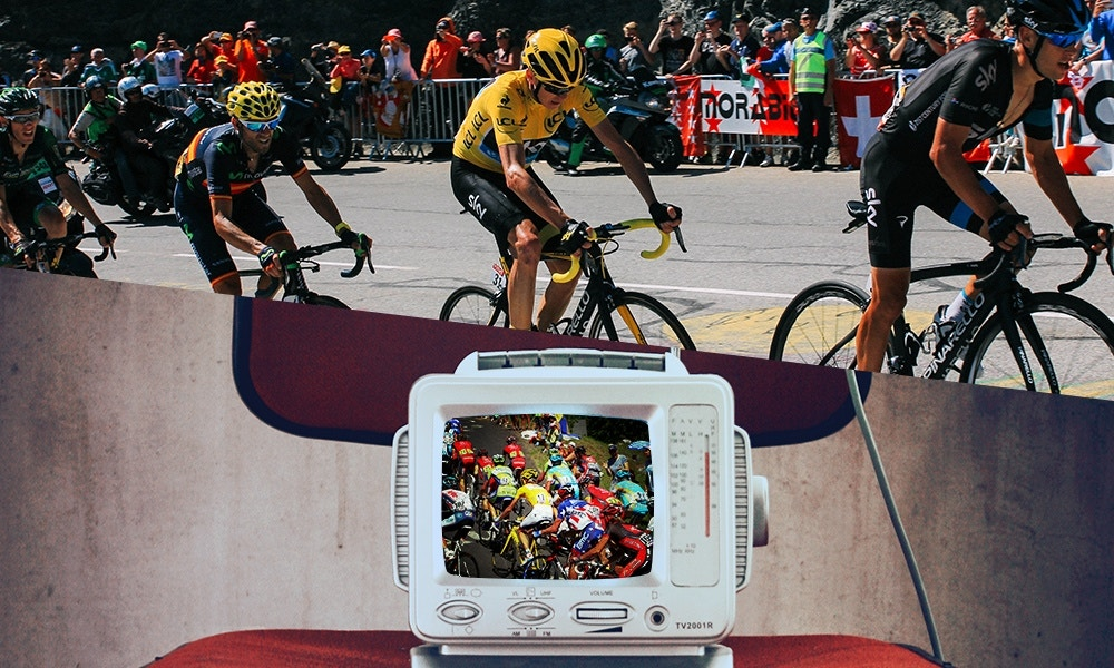 Watching the TdF Live