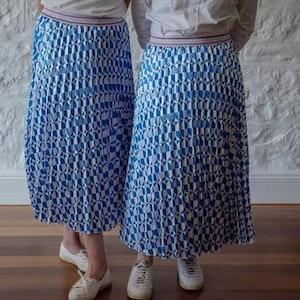 Santorini Pleated Skirt