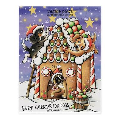Veggie Paws Dog Advent Calendar