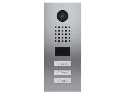 Doorbird IP Video Door Station with 3 Call Buttons 2018