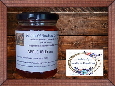 Apple Jelly 250g