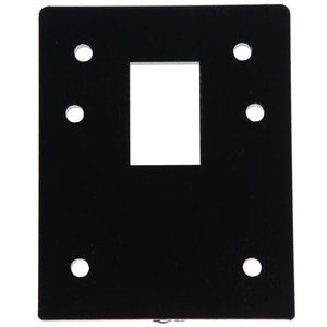 BDS Lockwood 001 6mm acrylic packer in black finish