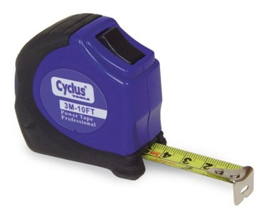Cyclus Tools Measuring Tape 3.00M/10 Feet Reverse Lock