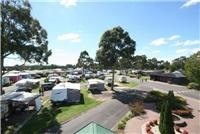 Easy access and plenty of space at Park Lane Tourist Park Traralgon