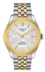 Tissot Ballade Powermatic 80 Silicium with Yellow Gold PVD Coating Bracelet