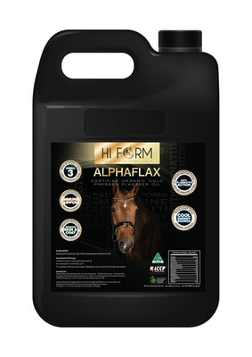 Hi Form AlphaFlax Pure Certified Organic Cold Pressed Flaxseed Oil