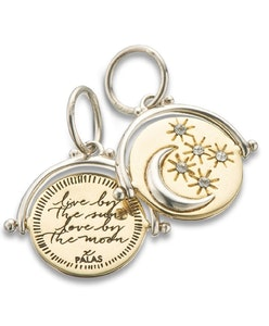 PALAS LIVE BY THE SUN LOVE BY THE MOON SPINNER CHARM