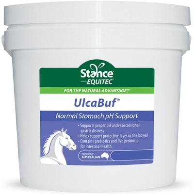 Stance Equitec Ulcabuf Horses Normal Stomach Support Supplement - 3 Sizes
