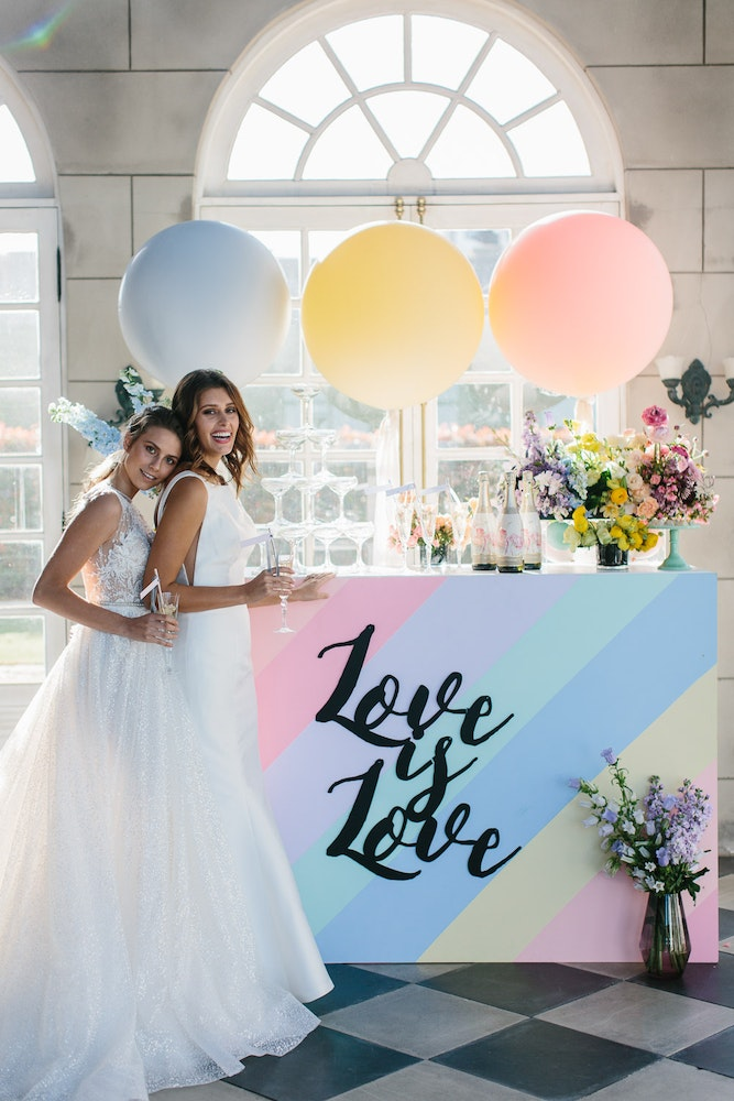 LENZO Love is Love Wedding Editorial