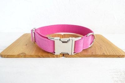 Barker & Bone Dog Collar | Pink