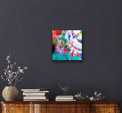 Diilhami Art Seaspray Original Artwork 40.5 x 40.5 x 4 cms
