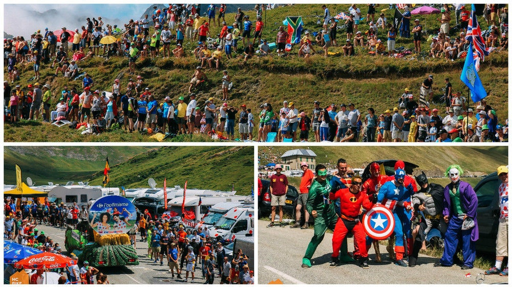 HC Bike Tours Crowd at ALPS
