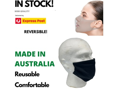 Boutique Medical MADE IN AUSTRALIA Reusable Breathable Face Mask Mouth Mask Anti Dust Haze Protective