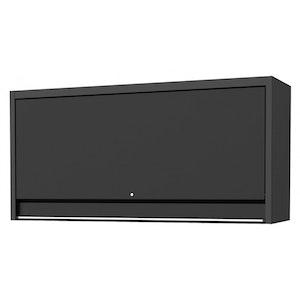 "Top Hutch Wide Power Shelf Pegboard Light 73"" USA Sumo Series BLACK SP44830"