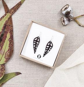 Gum Leaf Earrings