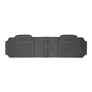 Velocity 1-Piece Car Mat - Grey [Rubber]