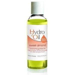 Caronlab Hydro 2 Oil Massage Oil Sweet Almond 125ml Moisturising Non Greasy