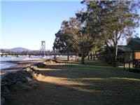 Easts Batemans Bay Riverside Holiday Park cabins overlook the Clyde 094