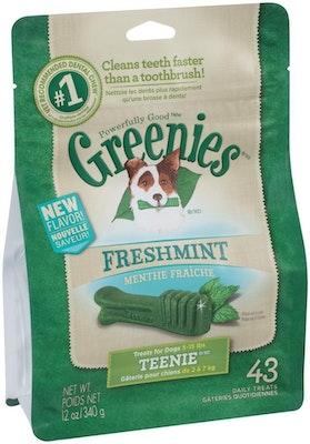 Greenies Freshmint Teenie 340g