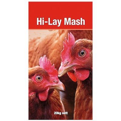 Laucke Mills Laucke Hi Lay Mash Poultry Feeds 20kg