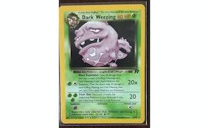 Pokemon TCG Team Rocket Dark Weezing Holo #14