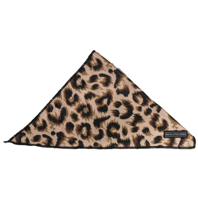 Big & Little Dogs Luxurious Leopard Bandana