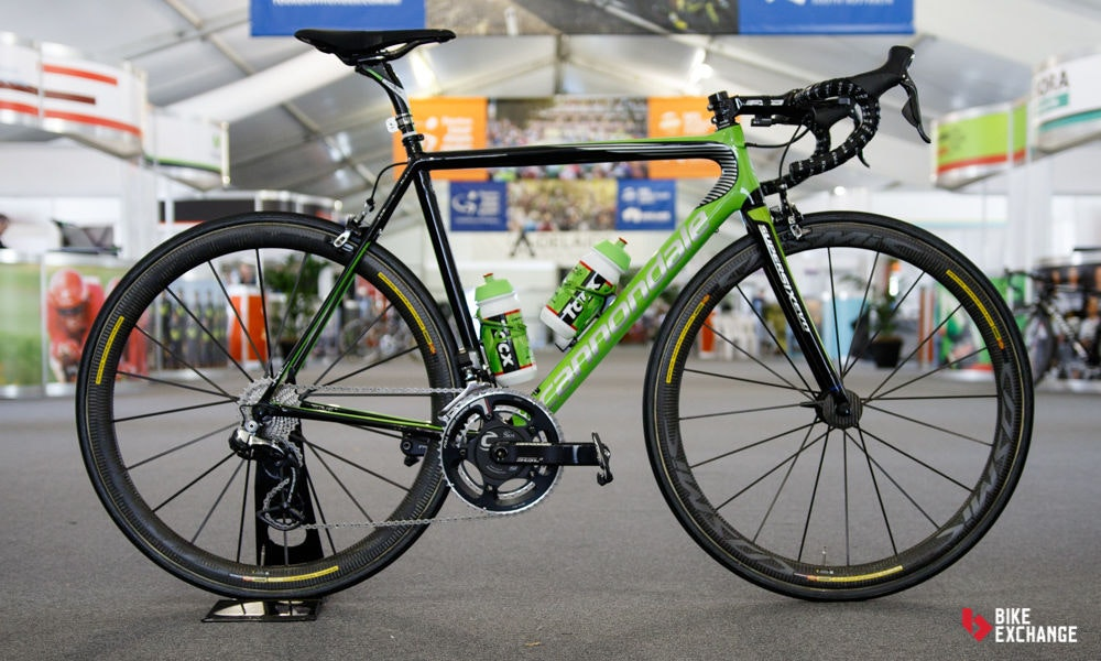 fullpage bikes of the 2017 worldtour cannondale supersix evo
