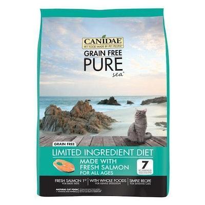 Canidae Grain Free Pure Sea Adult Cat Food Salmon - 3 Sizes