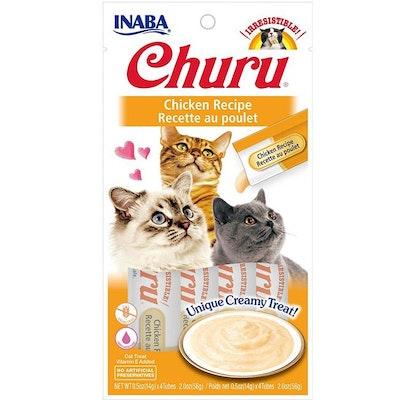 INABA Churu Puree Chicken Cat Treats