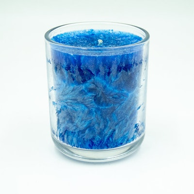 """MoeJoe Creations """"This Mysterious Bit of Coral Reef"""" Scented Sustainable Palm Wax Jar Candle"""