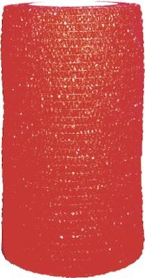 Value Plus VALUWRAP COHESIVE BANDAGE 10cm RED