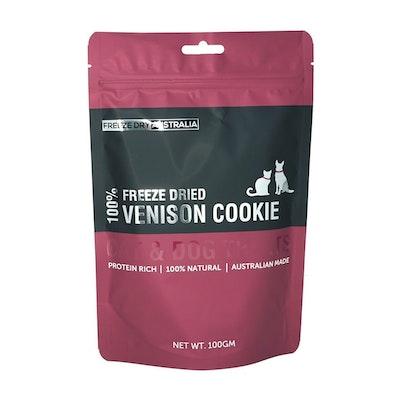 Freeze Dry Australia - Venison Cookie 100g