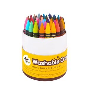 JarMelo WASHABLE CRAYONS -48 COLORS